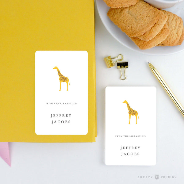 GIRAFFE BOOKPLATE