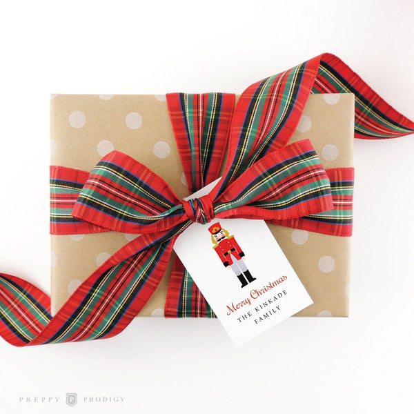 NUTCRACKER HOLIDAY GIFT TAG