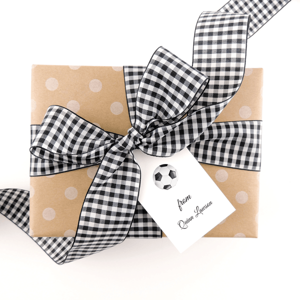SOCCER GIFT TAGS