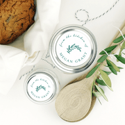 Olive Leaf Homemade Labels