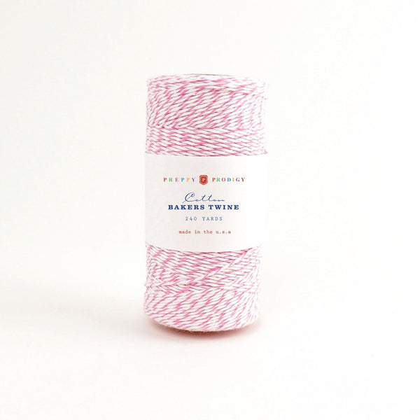 SPOOL OF BAKERS TWINE , PINK
