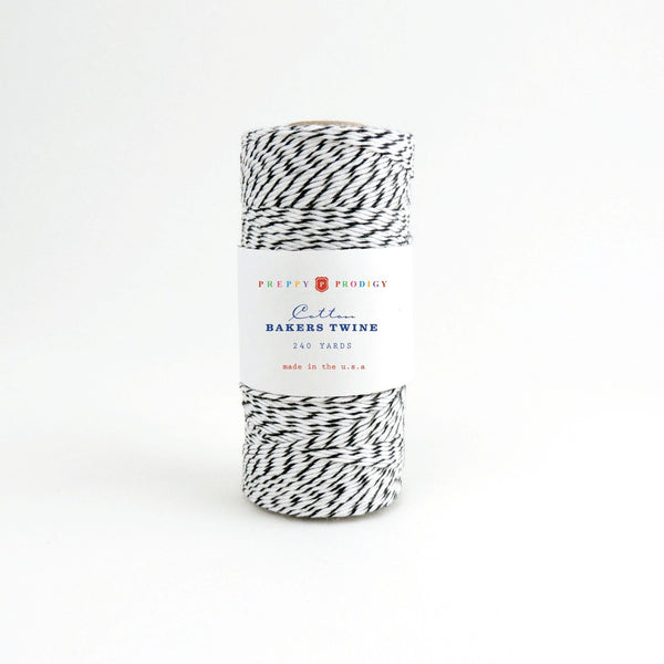 SPOOL OF BAKERS TWINE , BLACK