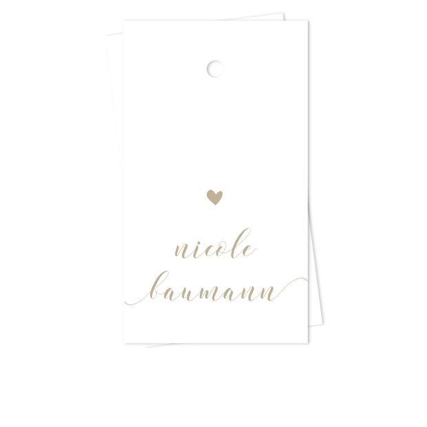 Perfect Penmanship Gift Tags
