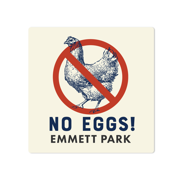 No Eggs Name Labels