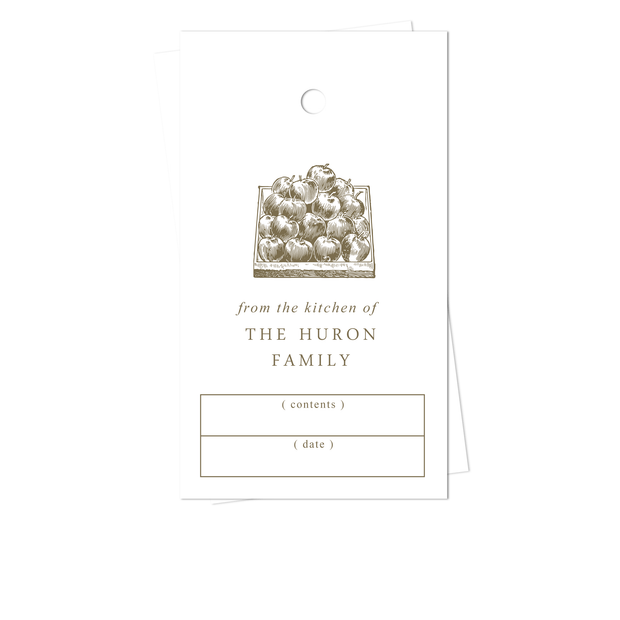 Apple Kitchen Gift Tags