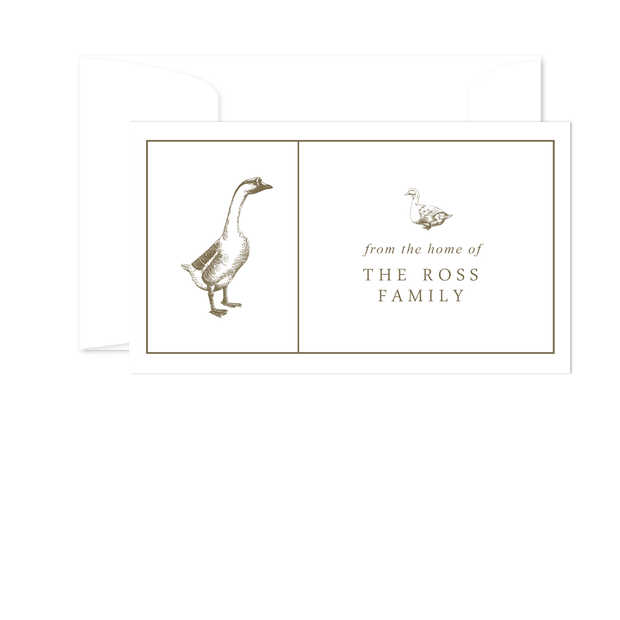 Goose Gift Enclosures