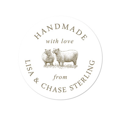 Sheep Handmade Labels