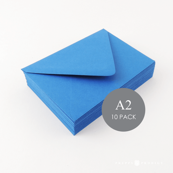 A2 BLUE ENVELOPES