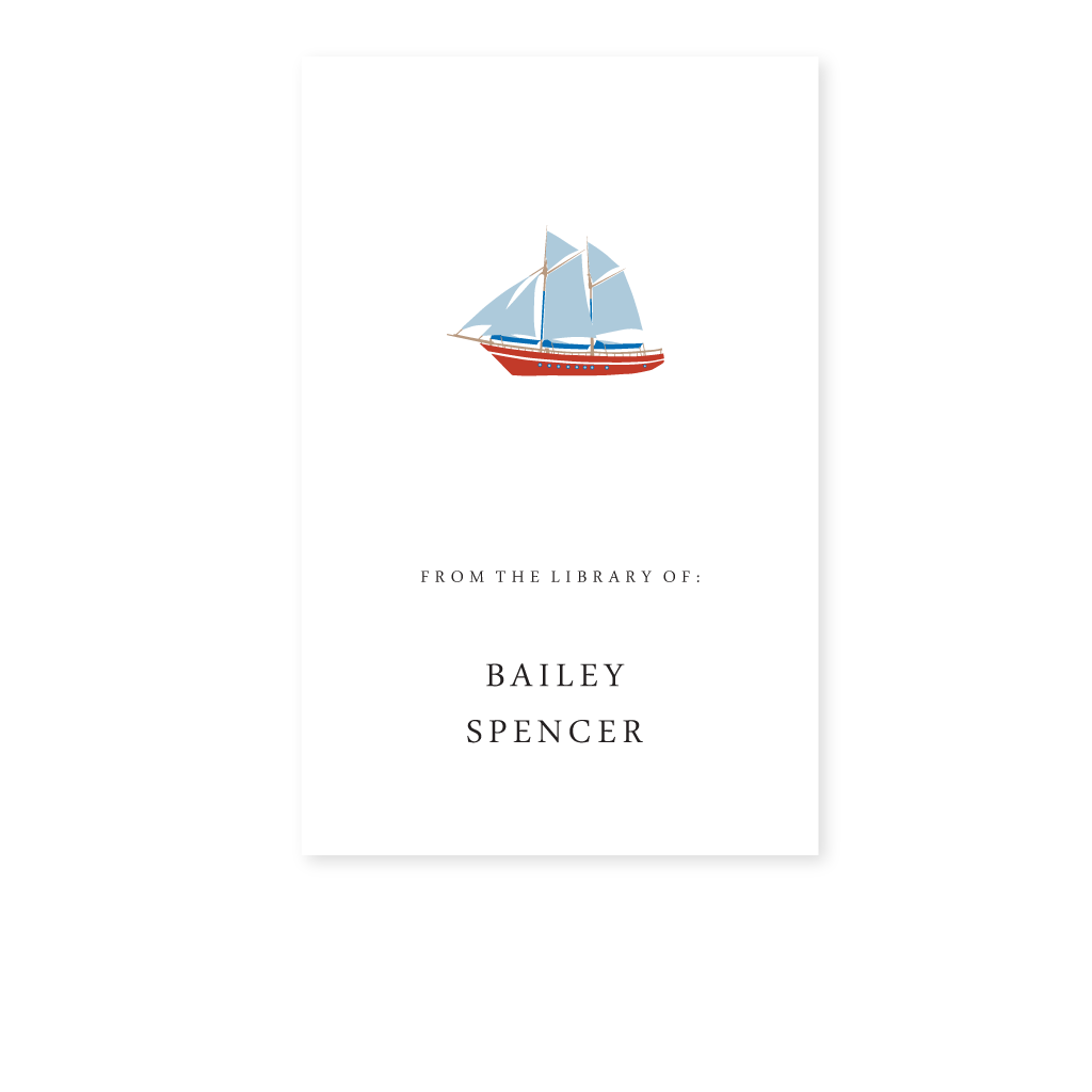 SHIP BOOKPLATE