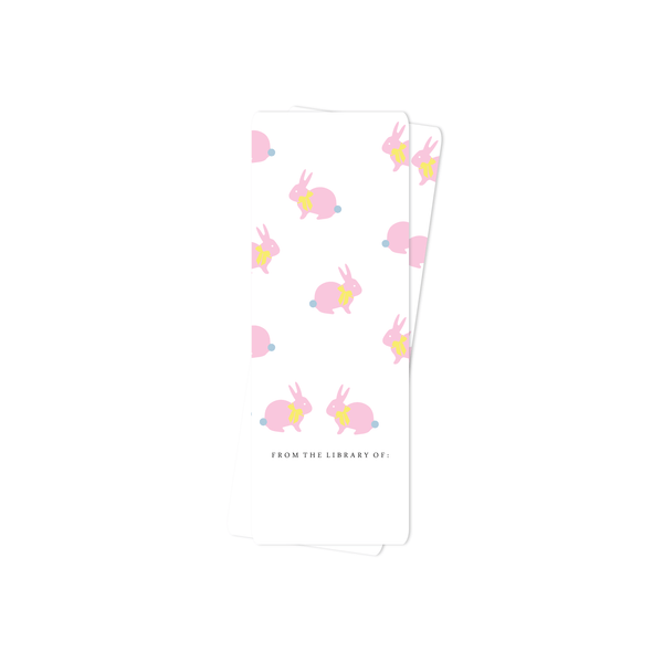 EASTER BOOKMARK, PINK BUNNY