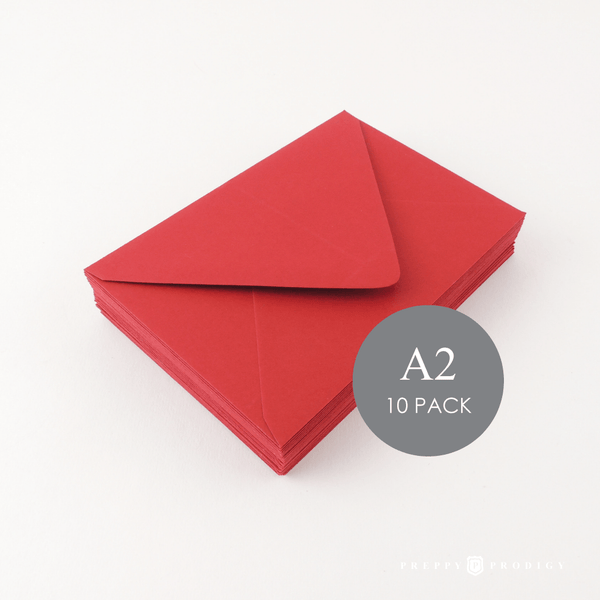 A2 RED ENVELOPES