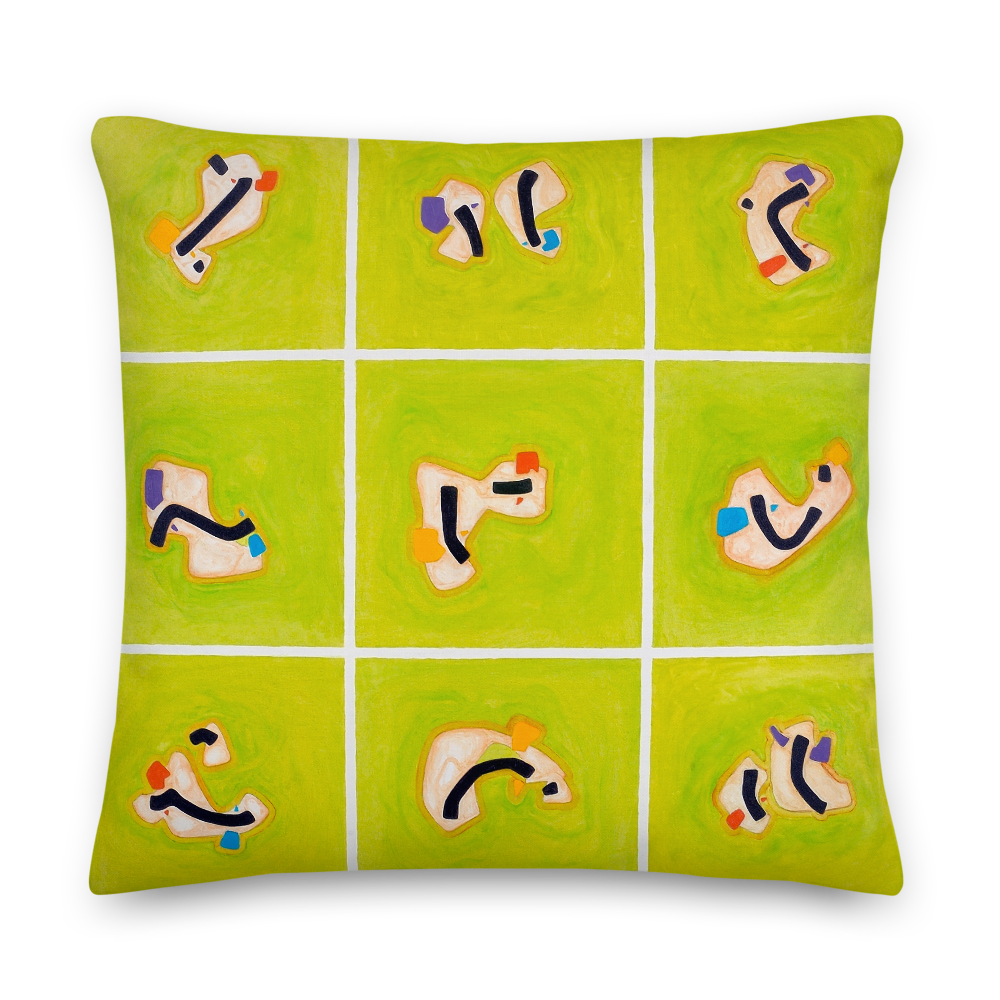Green Hope Pillow