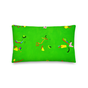 Green 23 Pillow