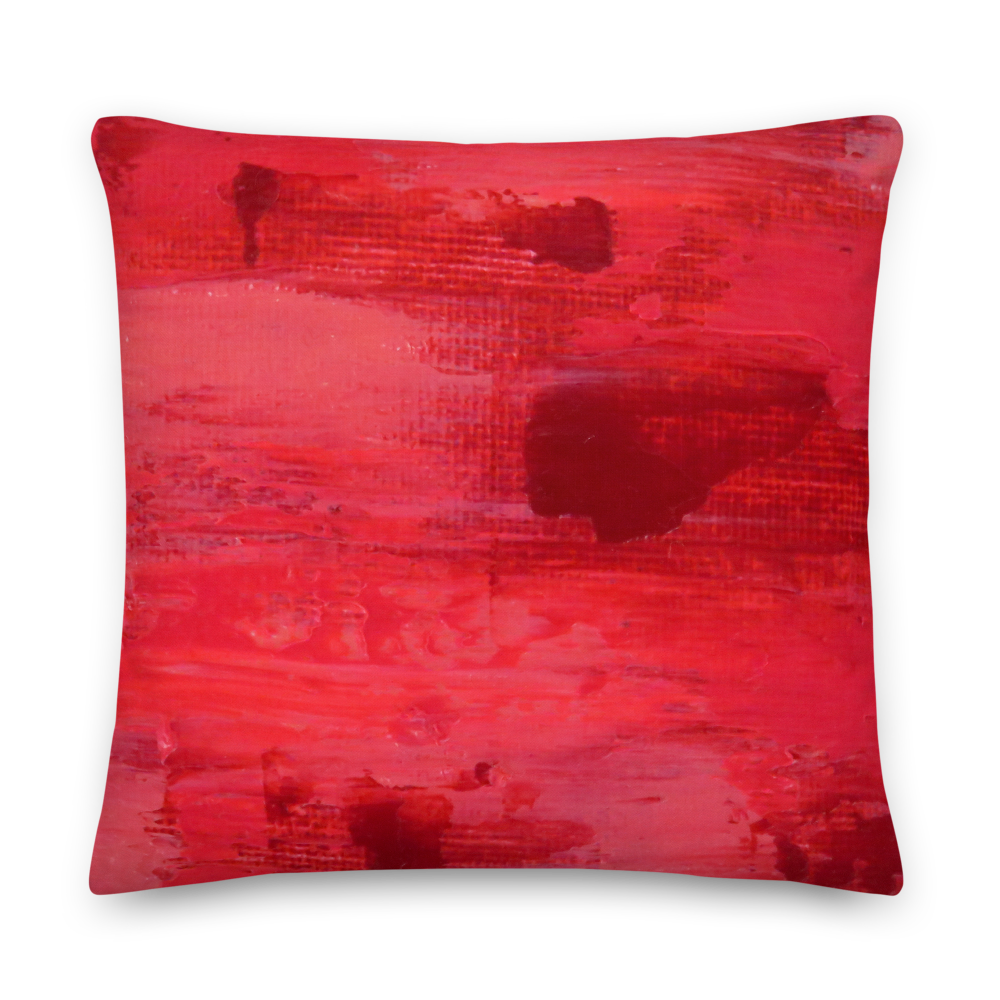Rainbow Pink Pillow