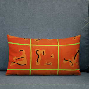 Red 9 Pillow