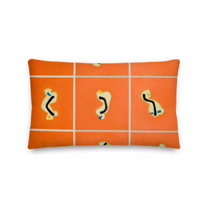 Dark Orange Pillow