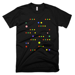 Men's Dots Organic Cotton T-Shirt