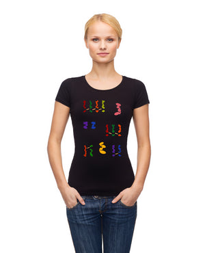 Women's Shapes Bamboo T-Shirt