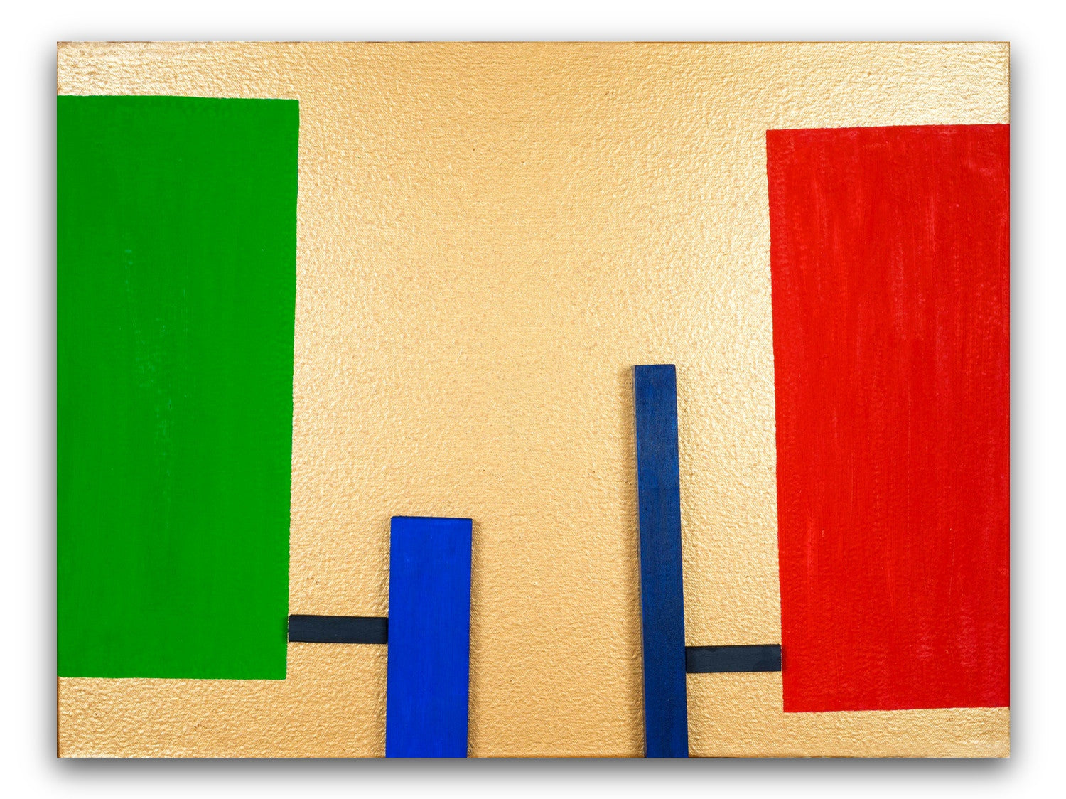 Green Blue Red - Print Behind Acrylic