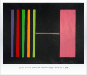 Untitled 7739, Color Variations Series 2013 - Poster