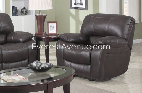 Columbus - Chair - Sturdy Chocolate Flush Pull Chair Recliner in Thick Durable Distressed Leather