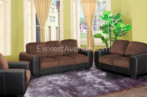 Stanlee Truffle Chocolate 3 Piece Living Room Set - A69D936