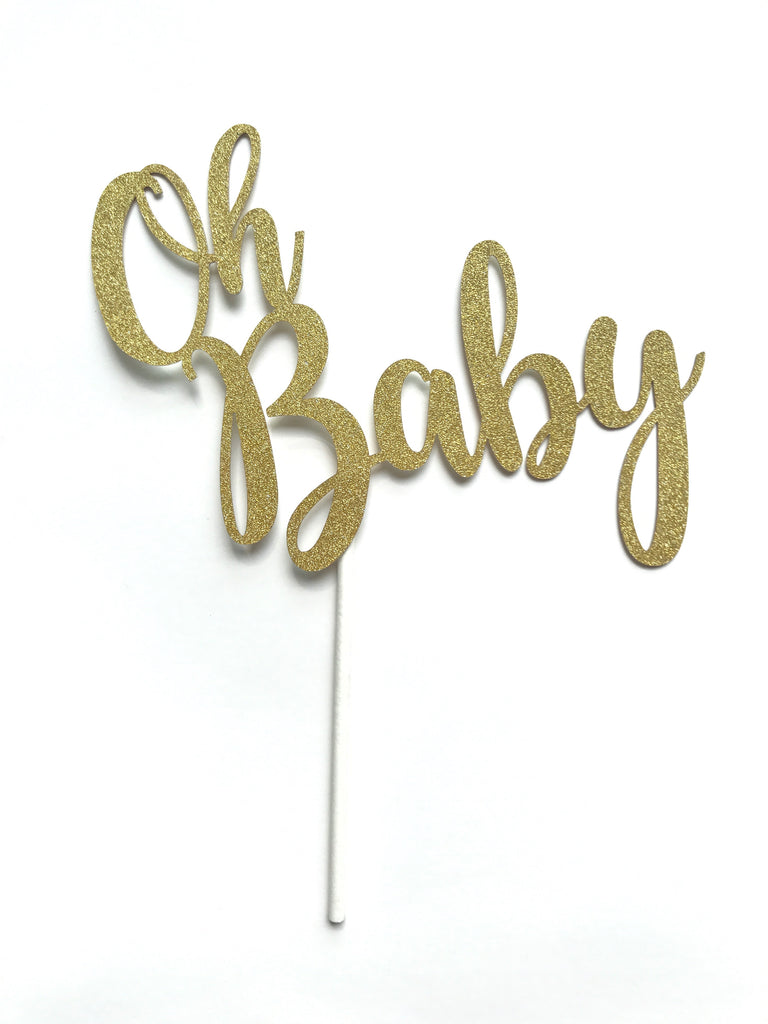 Cake Toppers - Glitter Card Stock