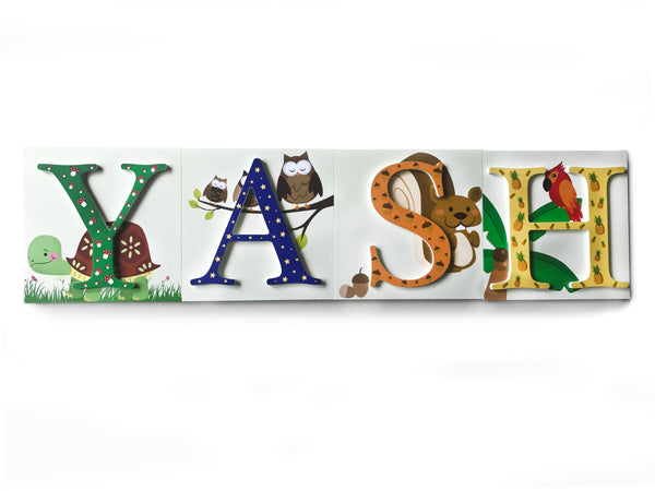 Name Decor Boards - 3D