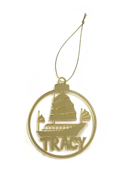 Personalised Christmas Ornaments - Hong Kong