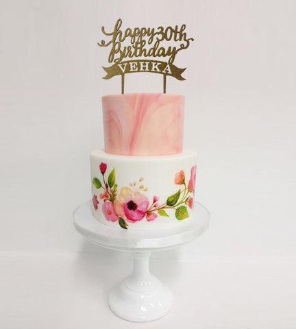 Cake Toppers - Wooden