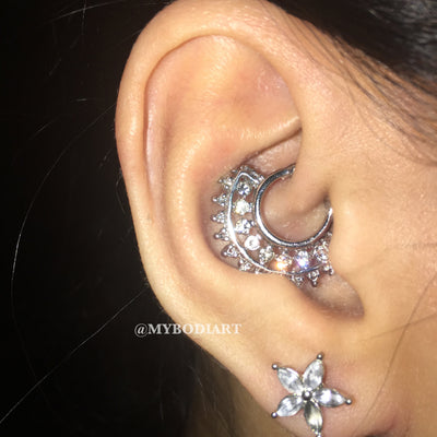 50 of the Trendiest Statement Earrings & Ear Piercing Ideas