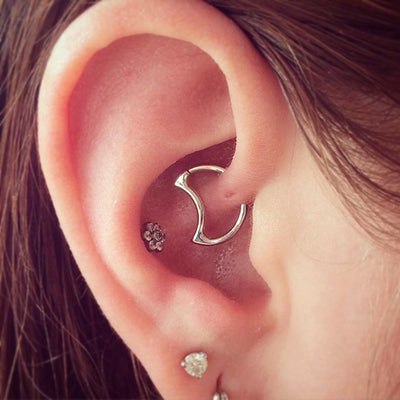 20 Ear Piercing Ideas that will have you Over the Moon !