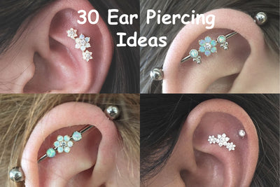 30 Trending Ear Piercing Ideas to Try This Summer 2017