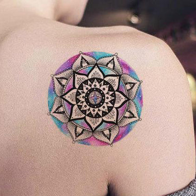 50 Geometric Mandala Tattoo Ideas for Women