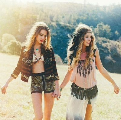50 of the Trendiest Spring 2017 Boho Chic Outfits - Bohemian Style & Fashion