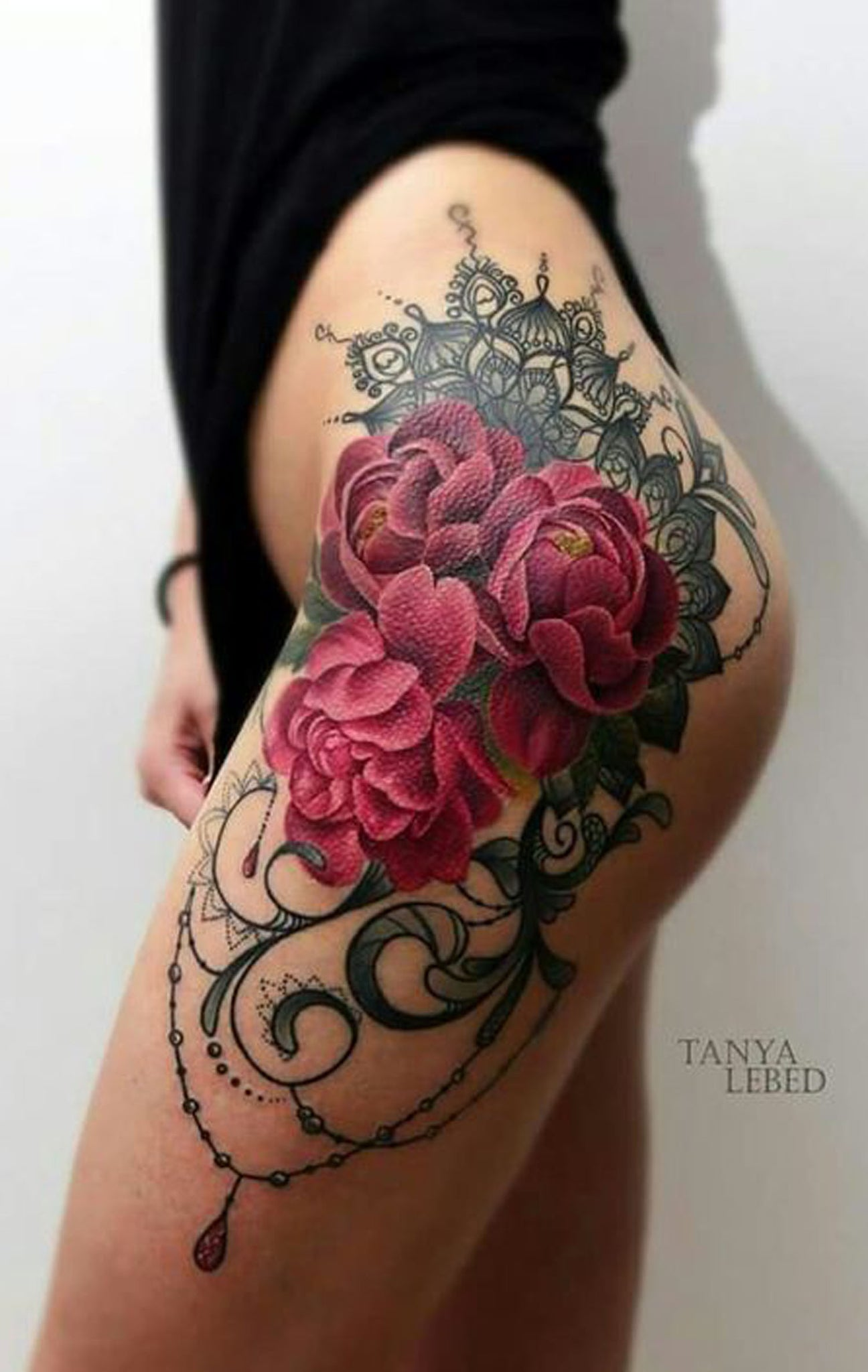 30 Of The Most Realistic Lace Tattoo Ideas Mybodiart