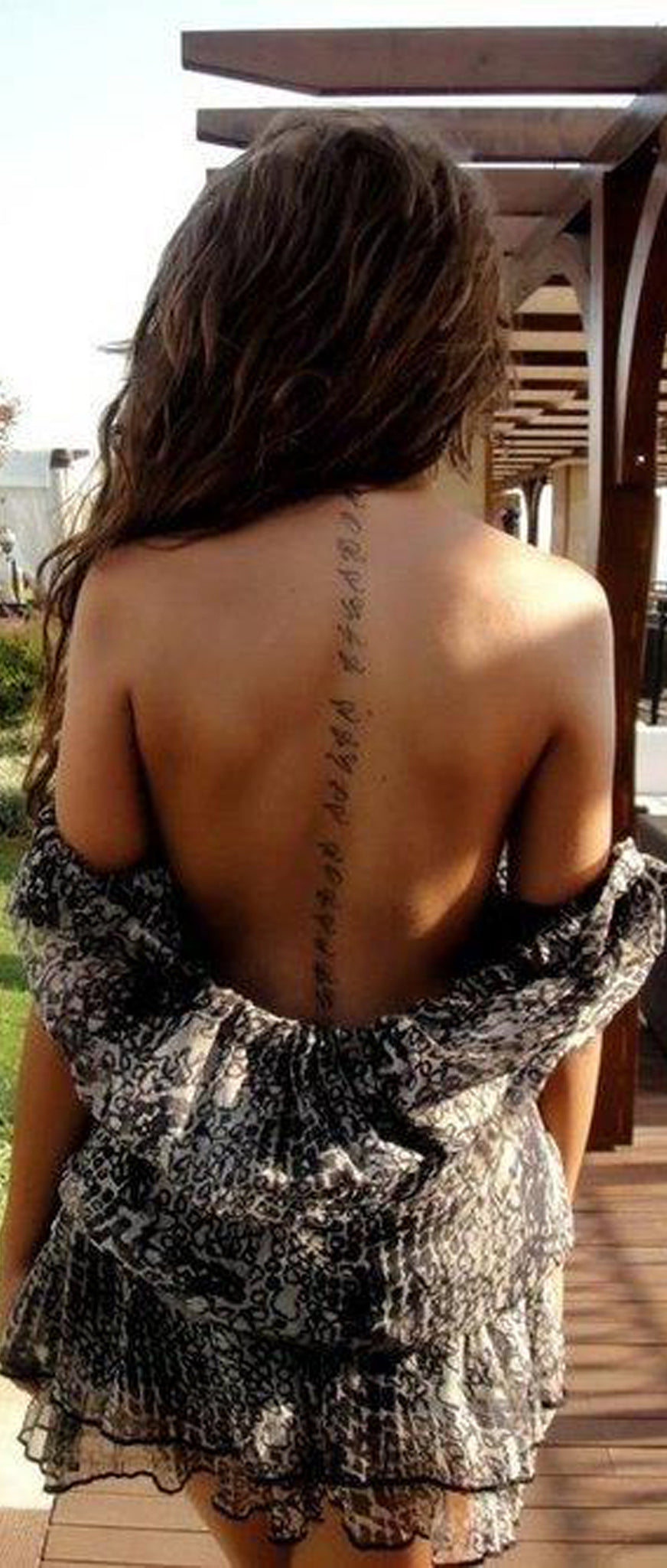 50 Inspirational Spine Tattoo Ideas For Women With Meaning Mybodiart