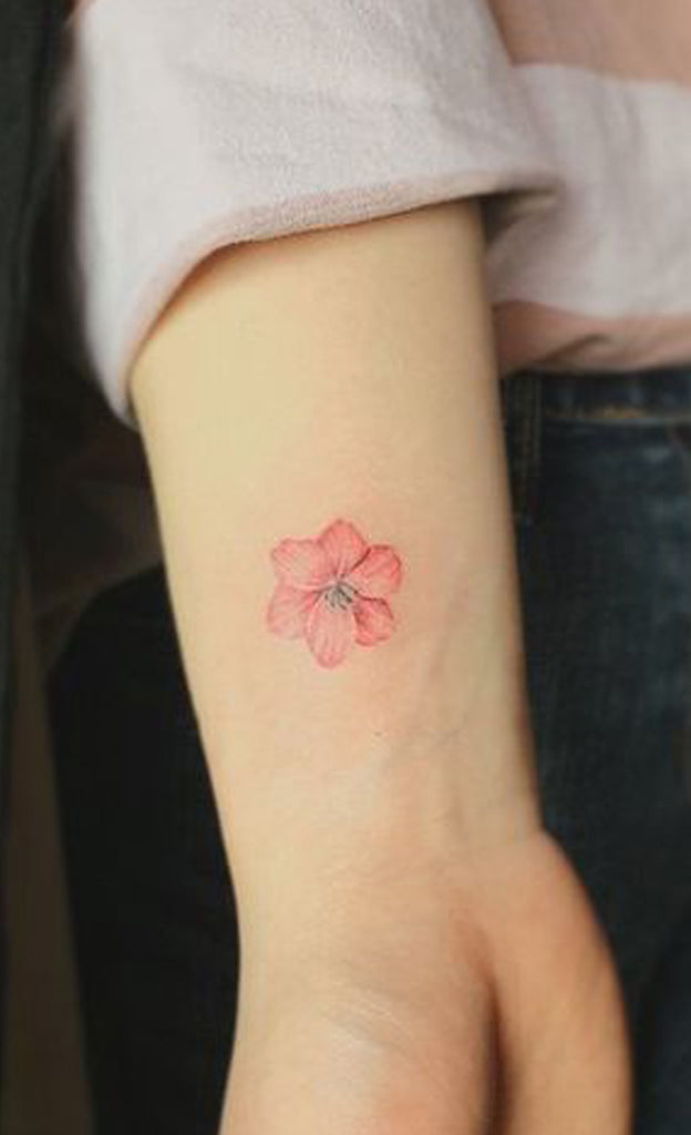 100 Trending Watercolor Flower Tattoo Ideas For Women Mybodiart
