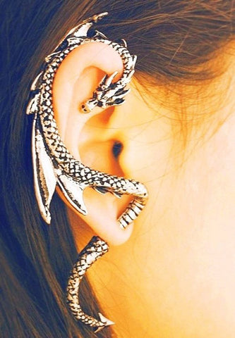 Dragon Ear Cuff at MyBodiArt