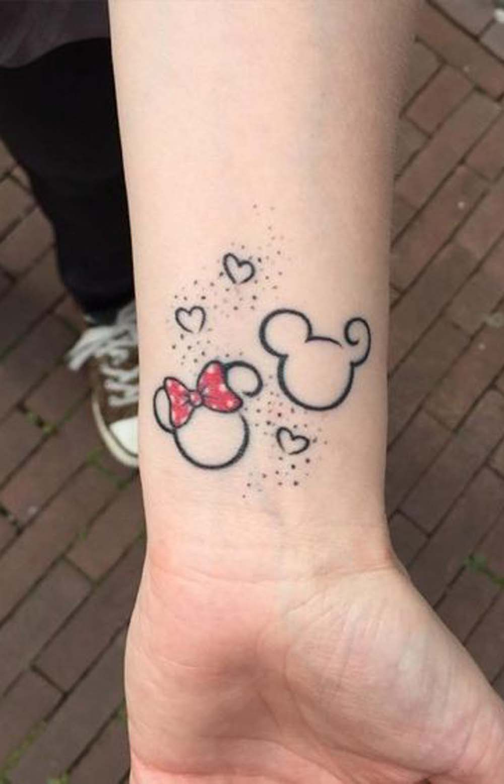 30 unique disney tattoo ideas for women mybodiart for Tattoos for older adults