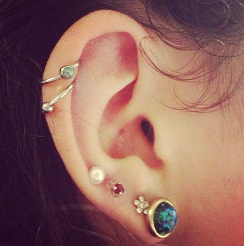 Helix Piercing Jewelry Cuff Ideas at MyBodiArt