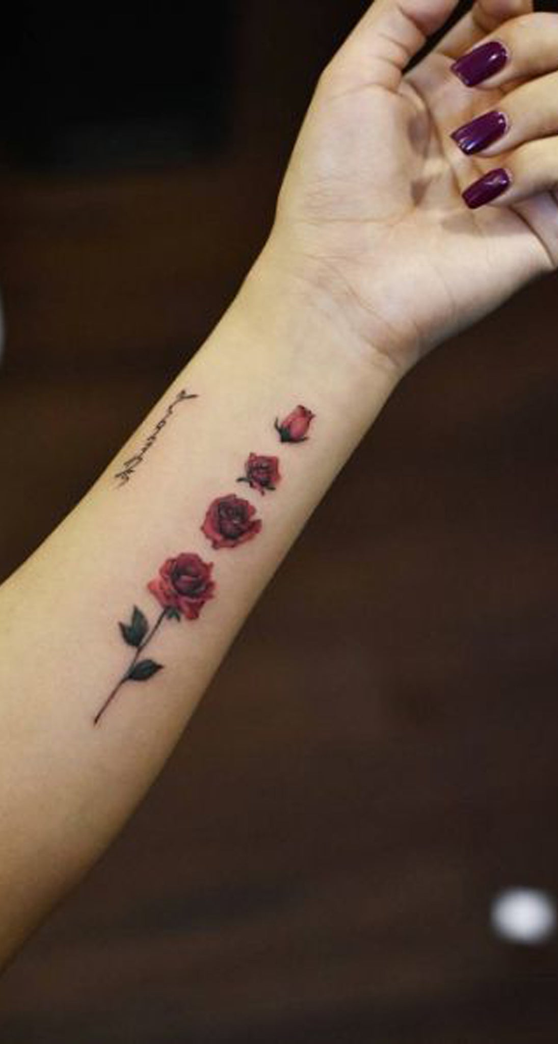 Unique Rose Arm Tattoo Ideas for Teenagers - Cool Special Floral Flower Watercolor Forearm Tat - www.MyBodiArt.com #tattoos