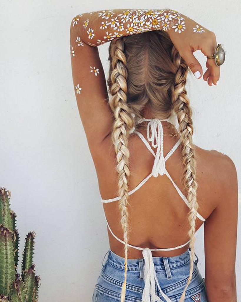 Boho Women 2017 Summer Outfits for Teen Girls - Cochella Fashion - Accessories at MyBodiArt.com