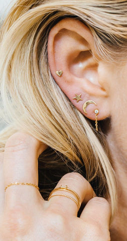 Elegant Ear Piercing Ideas at MyBodiArt