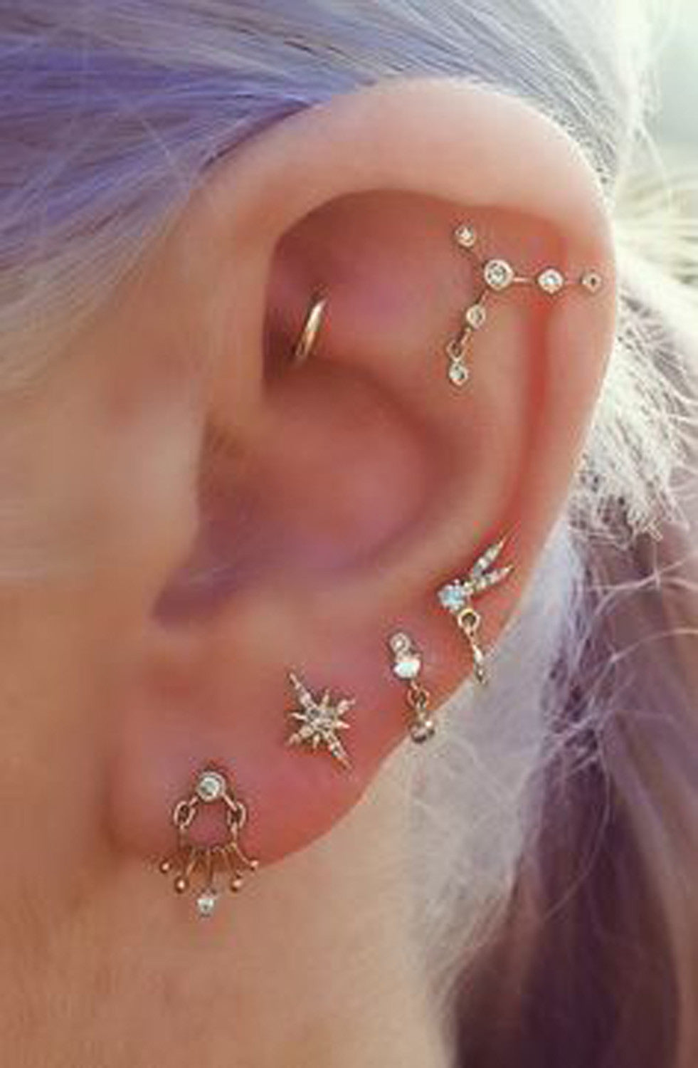 Steal These 30 Ear Piercing Ideas Mybodiart