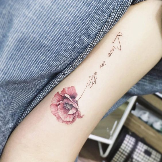 Flower Arm Tattoo - MyBodiArt.com