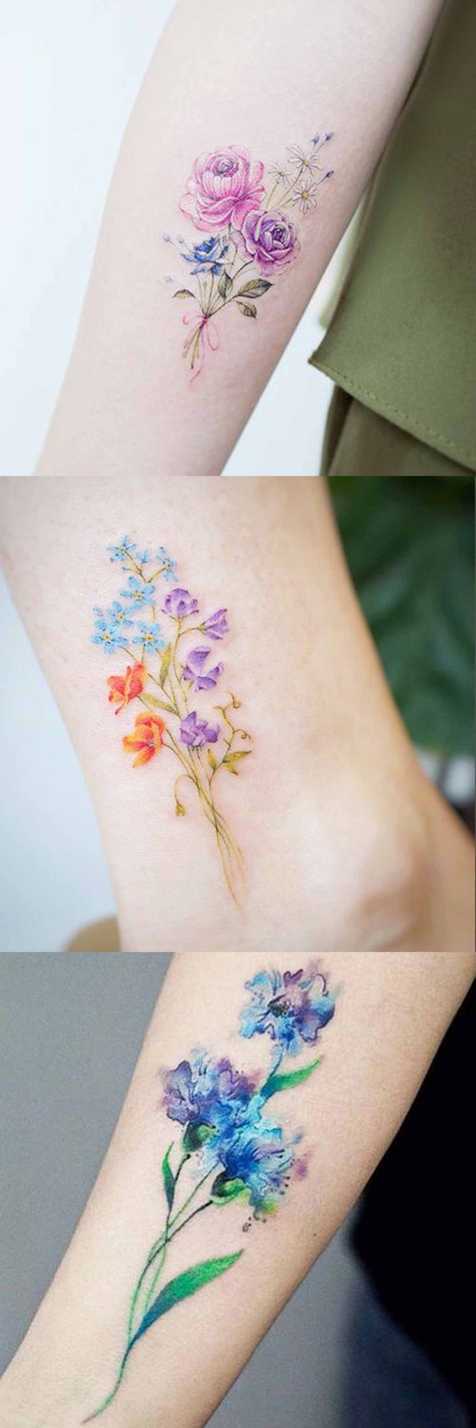 Small Flower Tattoos: 30 Delicate Flower Tattoo Ideas