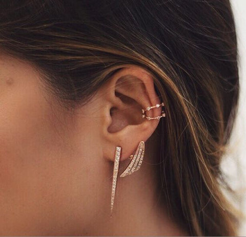 Helix Piercing Jewelry Ideas at MyBodiArt