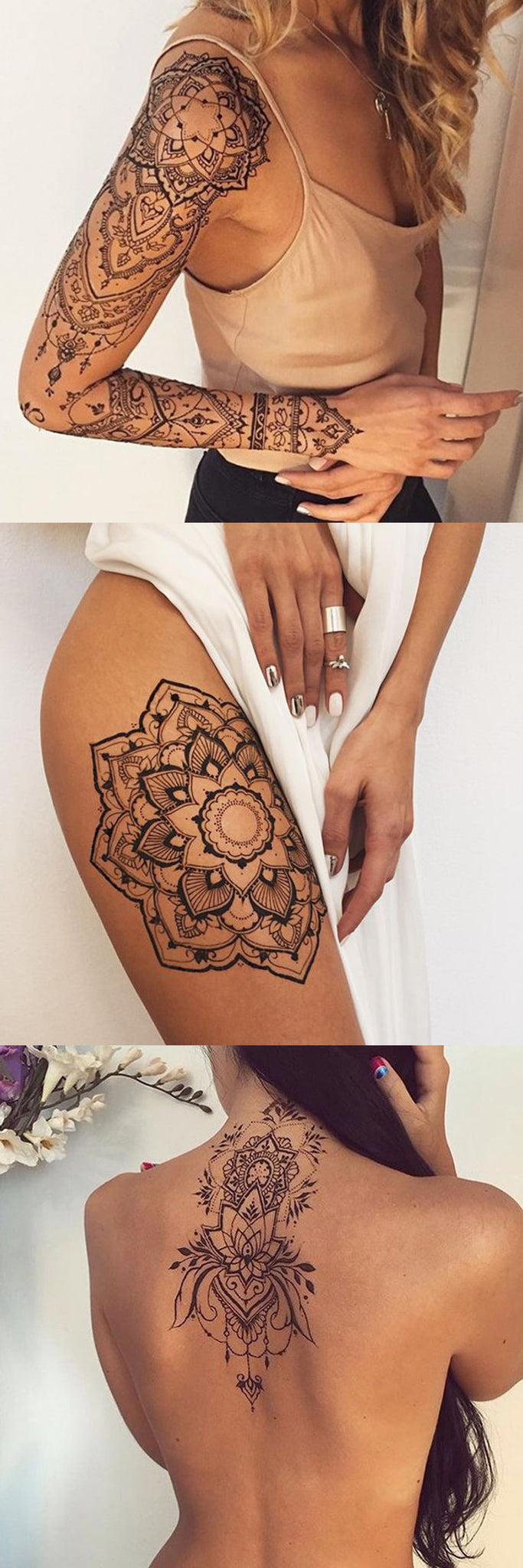 30 mandala tattoo ideas that will always be popular mybodiart. Black Bedroom Furniture Sets. Home Design Ideas