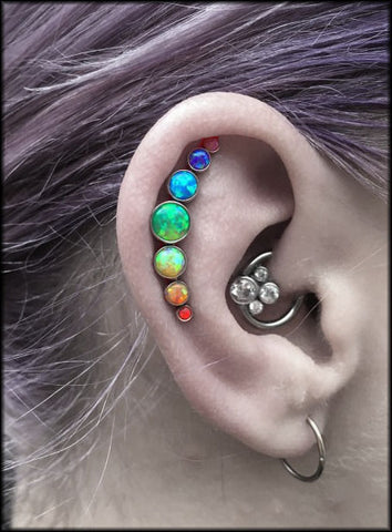 Helix Piercing, Daith Clicker